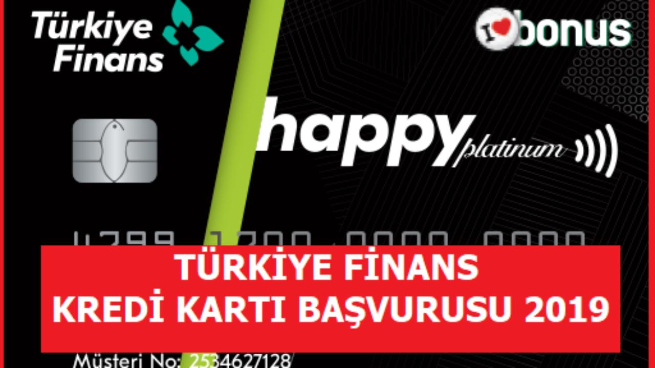 Türkiye Finans Kredi Kartı Başvurusu Yapma