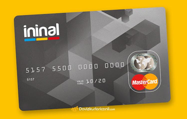18 yaş altı banka kartı ininal kart