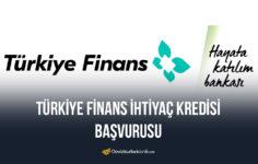 Türkiye Finans İhtiyaç Kredisi Başvurusu 2020